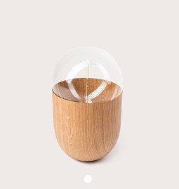 Lampe COCO - chêne