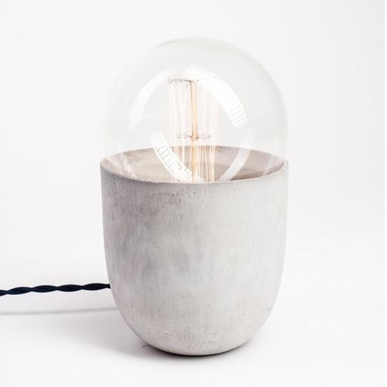 COCO light concrete table lamp  - Design : Koska