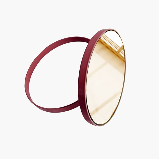 Miroir à poser Ring - Box - Design : Elisabeth Hertzfeld