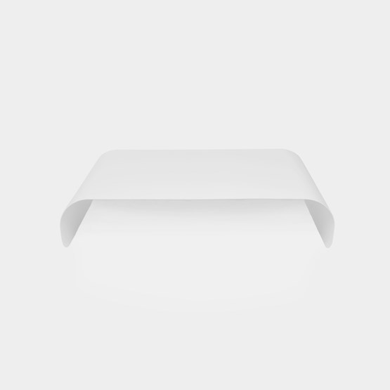 Coffee table TRANSALL - white - Design : Aguibson