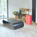Coffee table TRANSALL - black 5