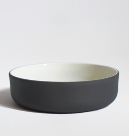 Set of two bowls | dark grey