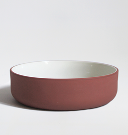 Set of two bowls | terracotta
