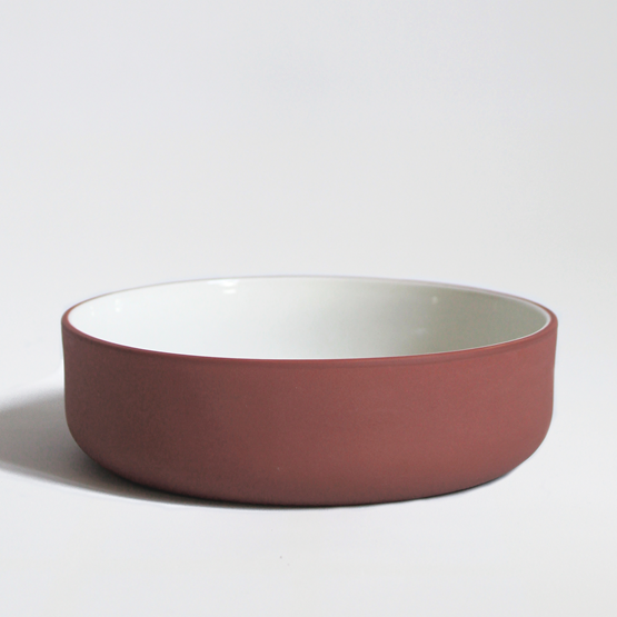 Set of two bowls | terracotta - Design : Archive Studio