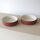 Set de deux bols   terracotta 2
