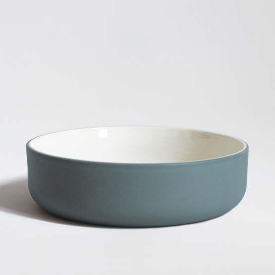 Set of two bowls | teal - Design : Archive Studio