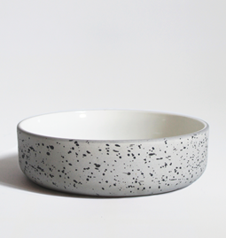 Set of two bowls | speckled