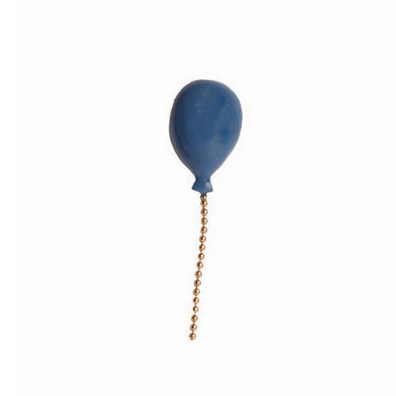 Lost Balloon porcelain pin - dark blue  - Design : Stook Jewelry