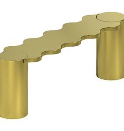 Hella bench - gold