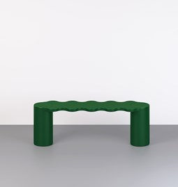 Hella bench - green