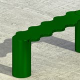Hella bench - green 4