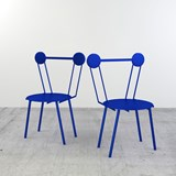 Haly chair - blue 2