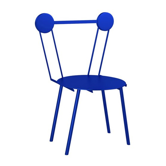 Haly chair - blue - Design : Chapel Petrassi