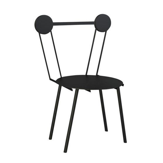 Haly chair - black - Design : Chapel Petrassi