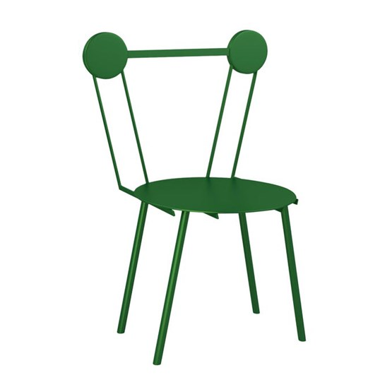 Chaise Haly - vert - Design : Chapel Petrassi