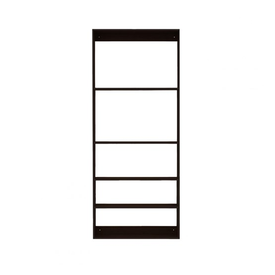 Etagère Fivesquare - bois foncé - Design : We do wood