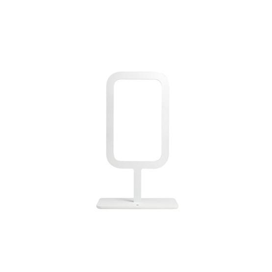 Lampe à poser FRAMED - blanche - Design : FX Balléry