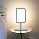 Lampe FRAMED blanche 4