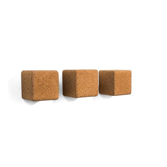 PEGA | #3 hook - light cork (set of 3) - Design : Galula Studio