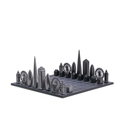 Premium Metal London Edition - Chess Game