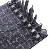 Premium Metal New York Edition - Chess Game 3