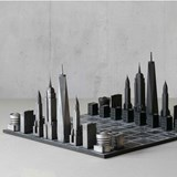 Premium Metal New York Edition - Chess Game 7