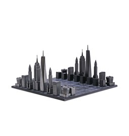 Premium Metal New York Edition - Chess Game