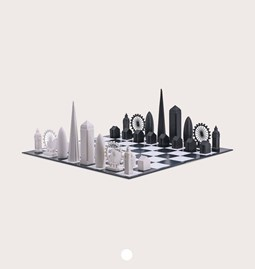 Jeu d'échec - Skyline Chess London Edition