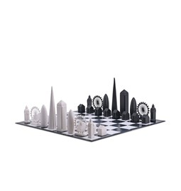 Jeu d'échec - Skyline Chess London Edition