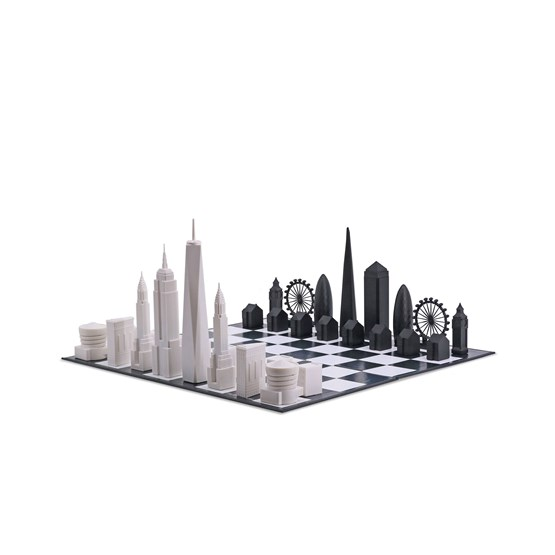 Skyline Chess New York vs. London Special Edition - Chess Game - Design : Skyline Chess