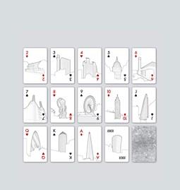 Jeu de cartes - The London Edition