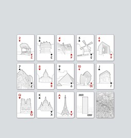 The Paris Edition - Playing cards