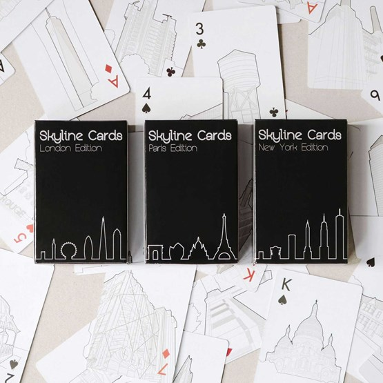 Full House Edition - Playing cards - Design : Skyline Chess