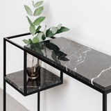 HOP / HOP MAXI console - black marble - S 6