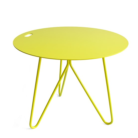 SEIS | coffee table - yellow - Design : Galula Studio
