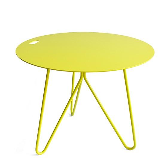 table basse seis jaune galula studio designerbox. Black Bedroom Furniture Sets. Home Design Ideas