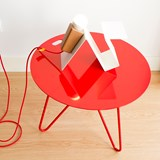 Table basse SEIS - rouge 6