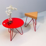 Table basse SEIS - rouge 5
