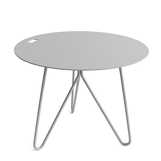 Table basse SEIS - gris - Design : Galula Studio