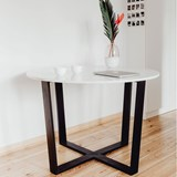 FLOYD table - white marble 5