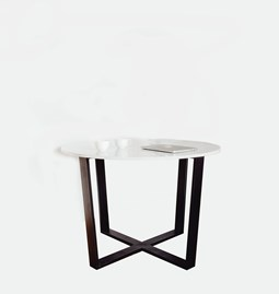 Table FLOYD - marbre blanc