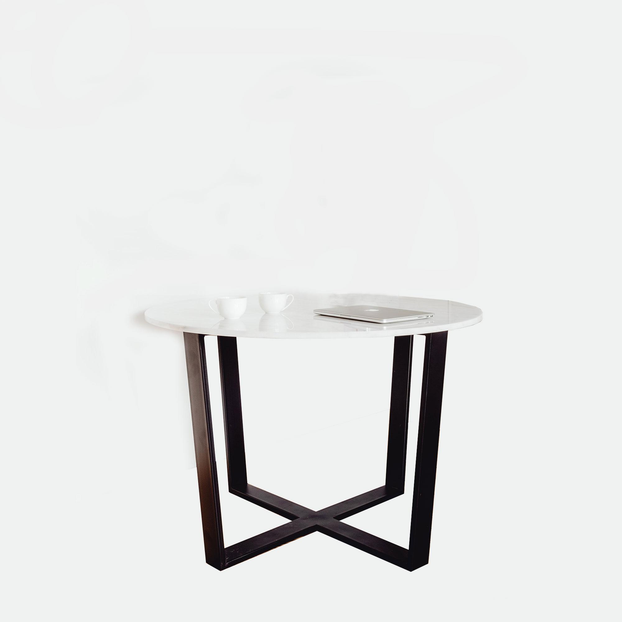 Table FLOYD   Marbre Blanc   Design : Unu0027common