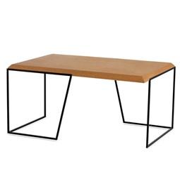 GRÃO | #1 coffee table - light cork and black legs
