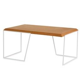 GRÃO | #1 coffee table - light cork and white legs
