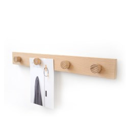 Oak magnetic rail