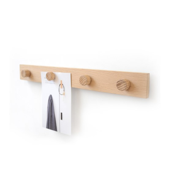 Oak magnetic rail - Design : Utology