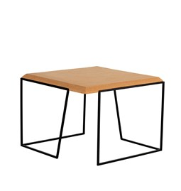 GRÃO | #2 coffee table - light cork and black legs