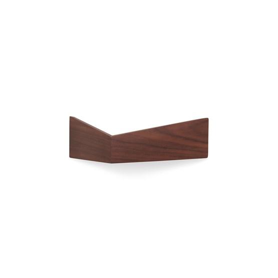 Etagère PELICAN - noyer - Design : WOODENDOT