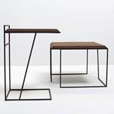GRÃO | #3 coffee table - dark cork and black legs  7