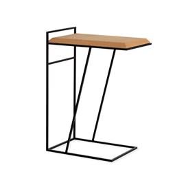 GRÃO | #3 coffee table - light cork and black legs